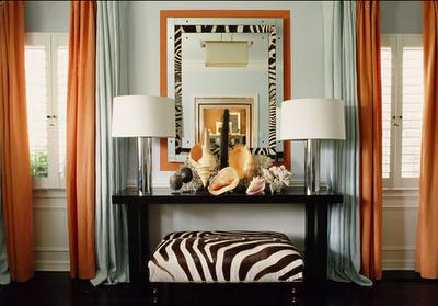 Zebra ottoman1