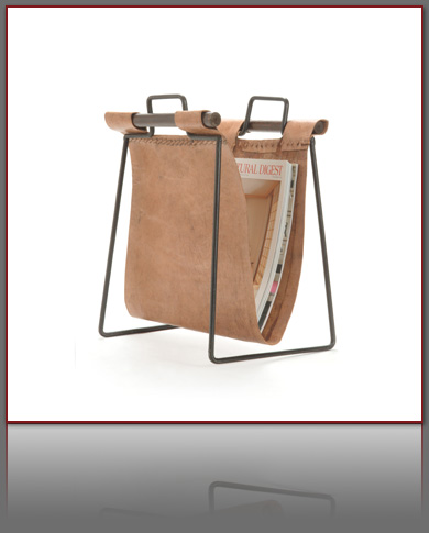 leathermagazinerack